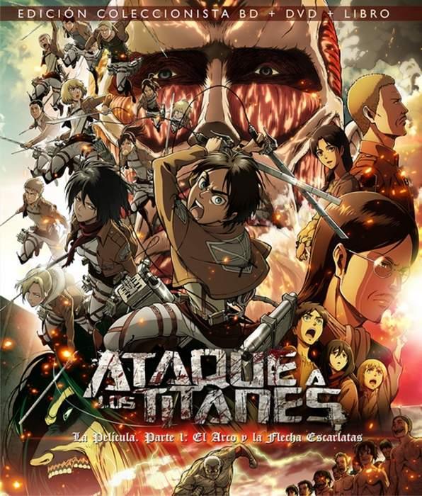 Póster de Ataque a los Titanes la película parte 1