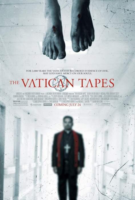 Póster de Exorcismo en el Vaticano