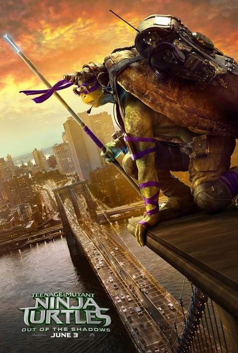 Pósters de Las Tortugas Ninjas: Fuera de las sombras