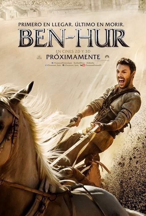 Póster de la nueva adaptación de Ben-Hur 2016
