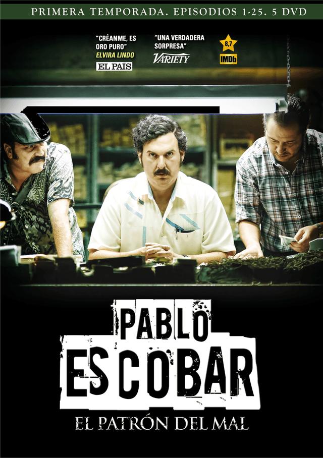 Carátula Pablo Escobar, el patrón del mal en DVD