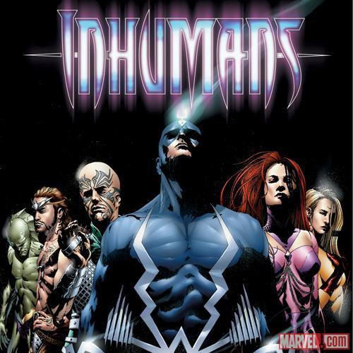 "La serie ""Los Inhumanos"" Agenda Marvel"
