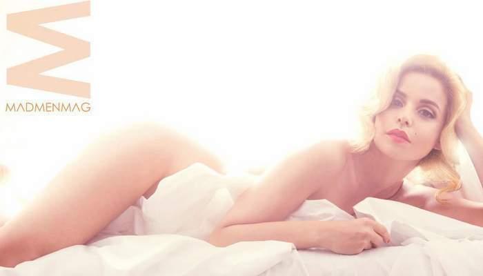 Marta Torné desnuda para la revista Mad Men