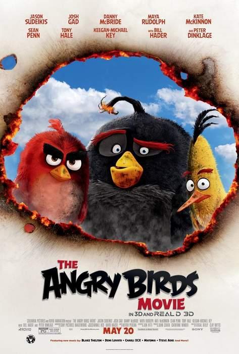 Póster de Angry Birds la película