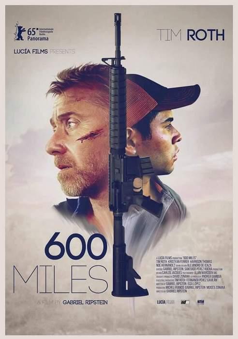 Póster de 600 millas