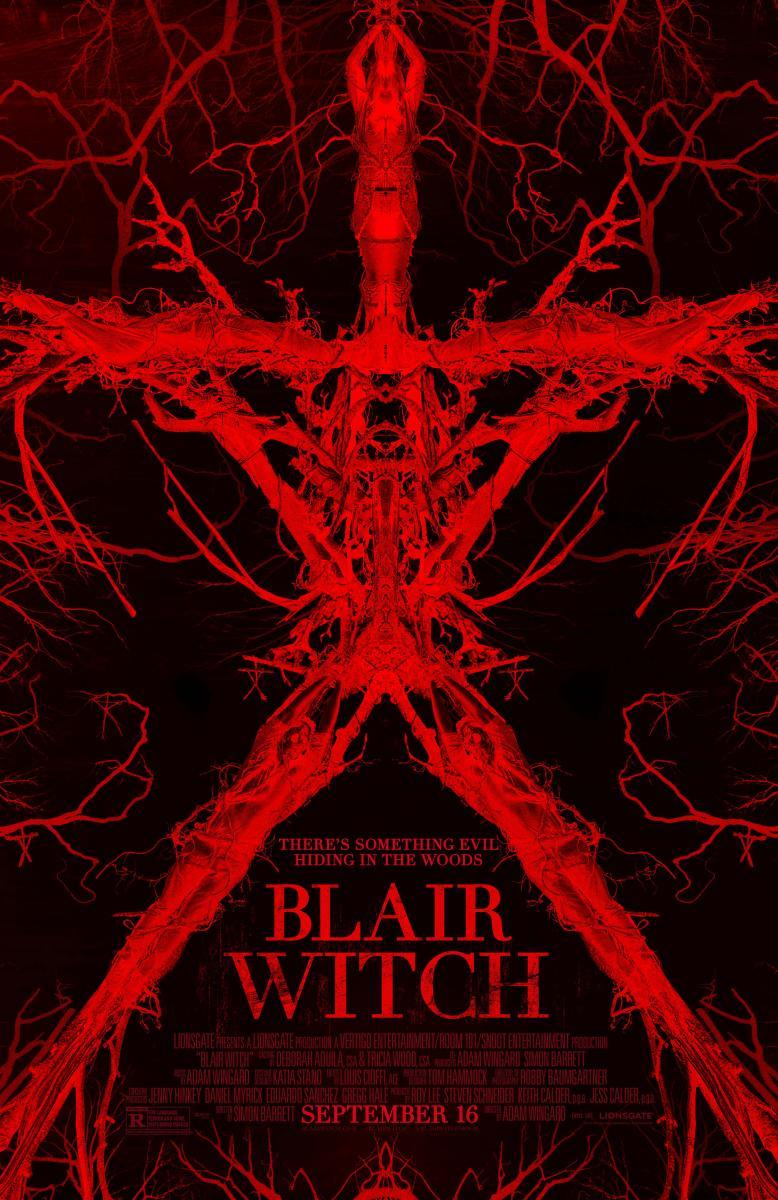 Póster de Blair witch