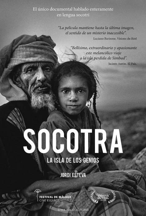 Póster de Socotra, la isla de los genios