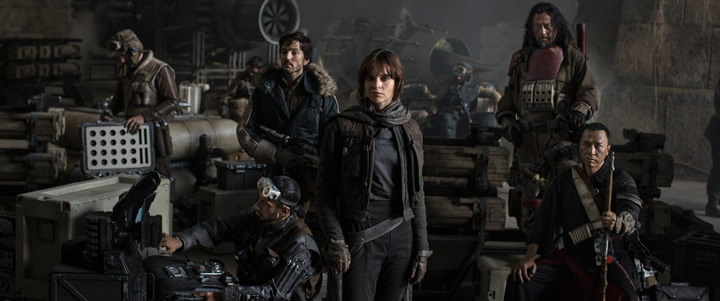 Star Wars: Rogue one, películas imprescindibles de la Navidad 2016