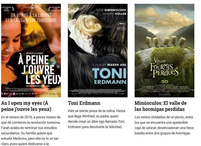 Primera Muestra de Cine Lux Madrid