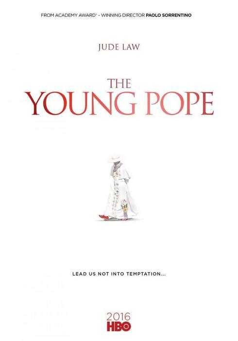 "Póster de la serie ""The Young Pope"""
