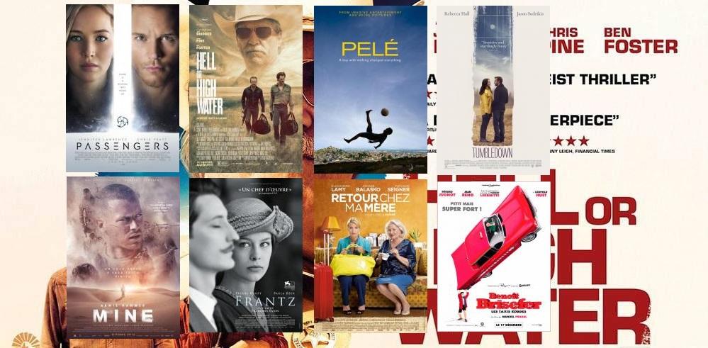 Estrenos de cine 30 de diciembre de 2016