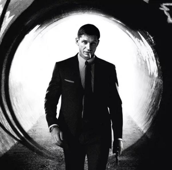 Tom Hardy como james Bond