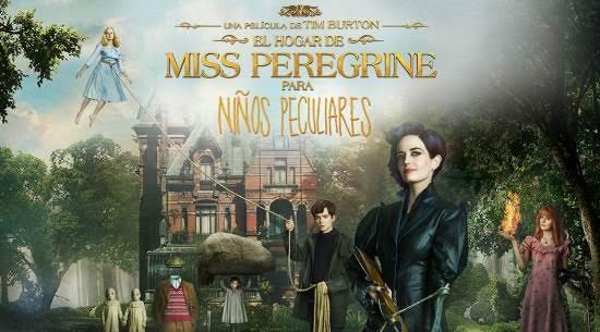 """""""El hogar de Miss Peregrine para niños peculiares"""" DVD y Blu-ray"""