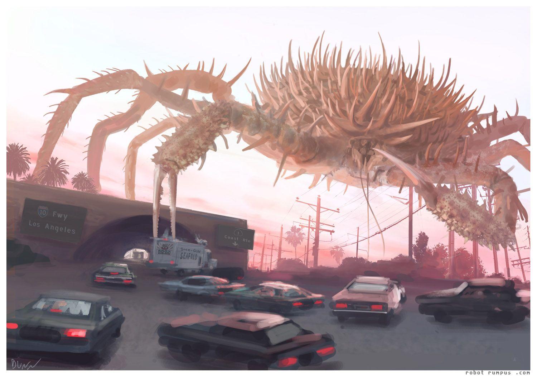 Película Cangrejos gigantes