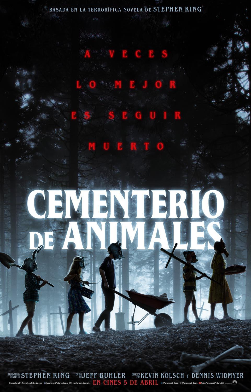 Tráiler y Póster de Cementerio de Animales